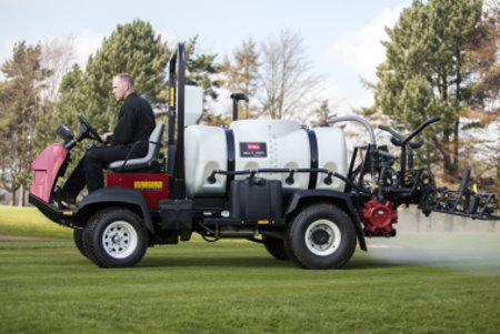 Toro MultiPro 5800D in action at Trentham Golf Club