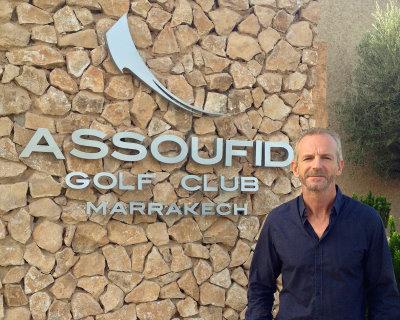 Guy Maxwell, Golf Director at Assoufid Golf Club, Marrakech