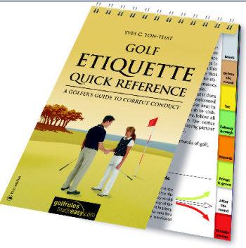 Cover Golf Etiquette