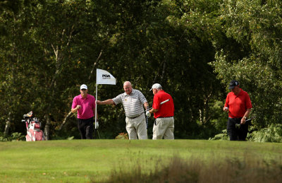 Golfers at Thorpeness Golf Club (courtesy of Stephen Pond, Getty Images)