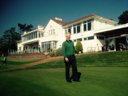 Heswall GC Chair of Greens Trevor Moon