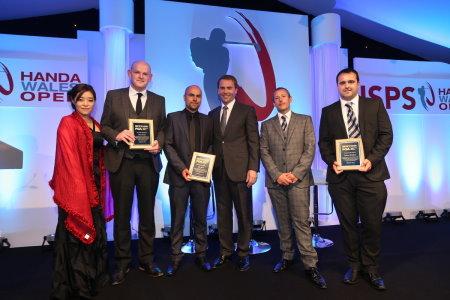 l-r: Midori Miyazaki, David Pocock, Glyn Davies, Robert Maxfield, Craig Thomas and Anthony Middleton