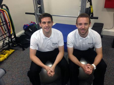 Jack Wells, left, and Ben Langdown