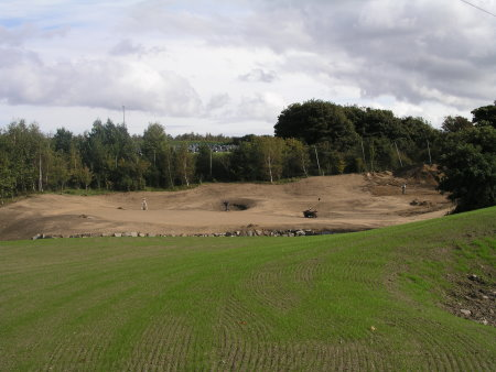 Work in progress at Rathfarnham Golf Club