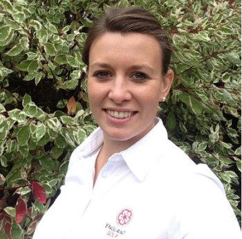 Lauren Spray of England Golf