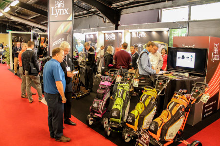 Lynx at The Golf Show in Harrogate