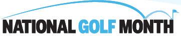 National Golf Month logo
