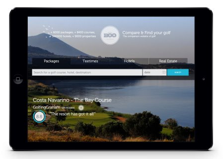New GOLFBOO site