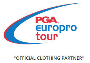 PGA Europro Tour Official clothing partner