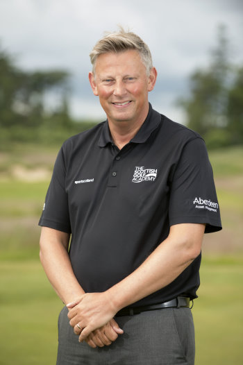 Kevin Cademy-Taylor, Scottish Golf Performance Development Manager