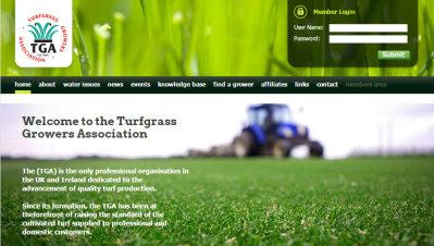 Turf GA website