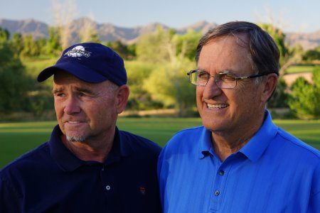 Brian Curley (l) and Lee Schmidt