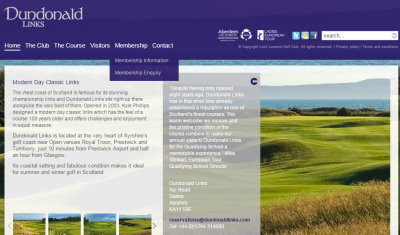 Dundonald links website