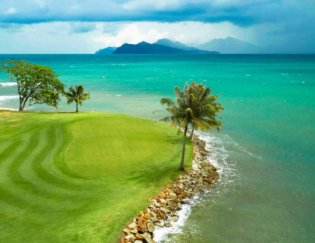 7th hole Els Club Teluk Datai