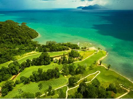 Els Club Teluk Datai aerial view