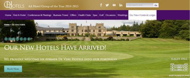 QHotels website