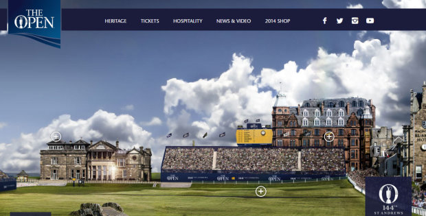 The new Open website