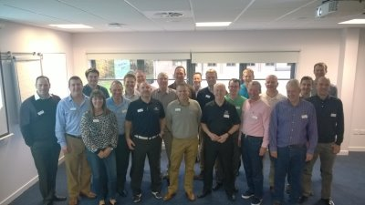 Delegates at the MDP Level 1 Course in Stirling on October 27-31
