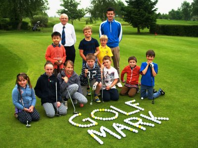 Cleobury Mortimer's thriving junior section led by head PGA Professional Robert Watkins and junior organiser Richard Chandler has been instrumental in its success