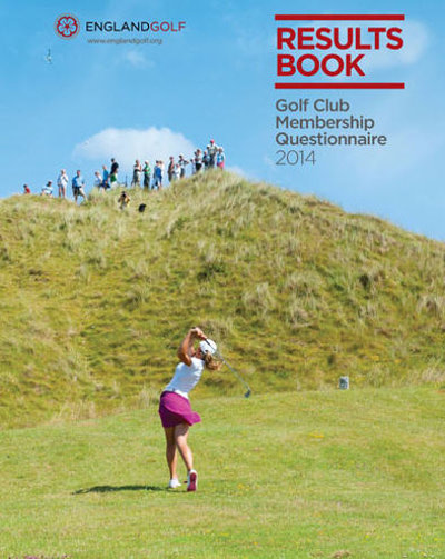 England Golf Results Book