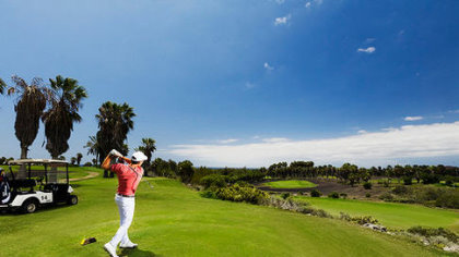 Golf del Sur's second hole