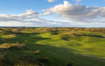 One of the Atlantic Links Championship Links Courses, Burnham & Berrow's 3rd hole (Geoff Ellis)