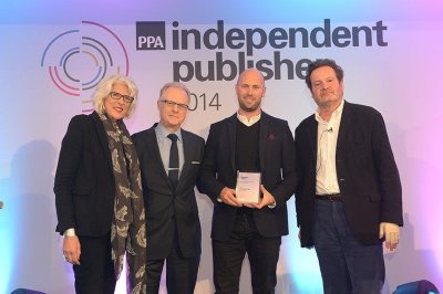 Glyn Pritchard GOLF RETAILING Editor (centre left) and Miles Bossom, Publisher/CEO (centre right)