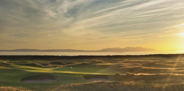 Prestwick Golf Club Panorama
