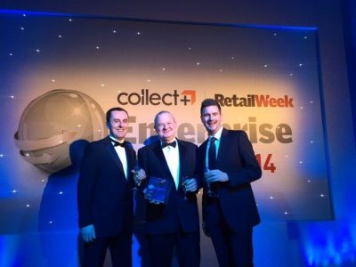 left to right from American Golf are Mat Dye, eCommerce Trading Manager, Pat Foley, Head of eCommerce and James Duggan, eCommerce Marketing Manager