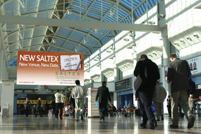 SALTEX 2015 at the NEC on 4-5 November continues to attract exhibitors.