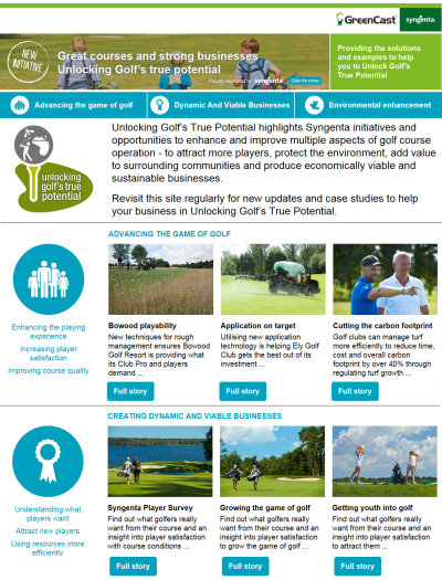Sustainability link web page