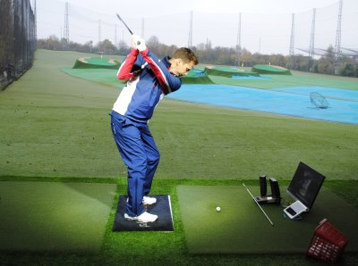Video Analysis Suite with Huxley Golf Surfaces at World of Golf