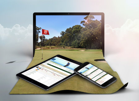 Golfbox tournament mobile devices