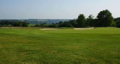1st Hole at Saint-Omer Golf Club