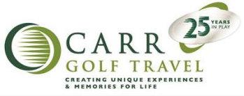 Carr Golf Travel logo