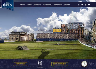 The 144th Open Championship will be held at St Andrews from 16th – 19th July 2015