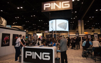 PING booth during the 62nd PGA Merchandise Show January 2015 (Photo by Montana Pritchard/The PGA of America)