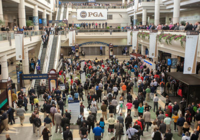 PGA Show 2014 waiting for the opening