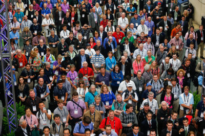 PGA Show attendees at Opening Ceremony (Photo by Montana Pritchard/The PGA of America)