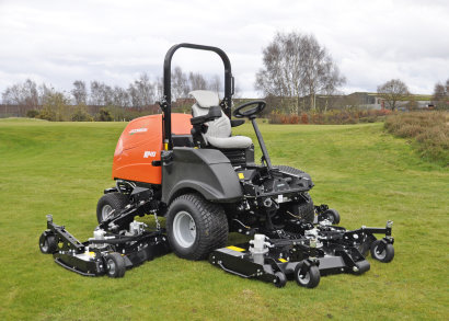 The new Jacobsen MP493 wide area rotary mower