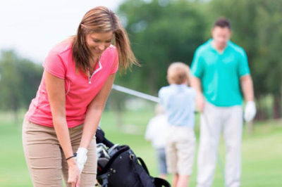 SMS INC Women and Golf story