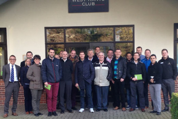 Delegates at the MDP programme in Bournemouth at the West Hants Club