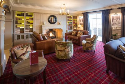 New lounge area of Carden Park Hotel
