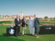 Keith Waters, Chief Operating Officer of The European Tour; David Williams, Chairman of The European Tour; Yousuf Kazim, Chief Executive Officer Jumeirah Golf Estates; and Neal Graham, General Manager of Club Operations Jumeirah Golf Estates