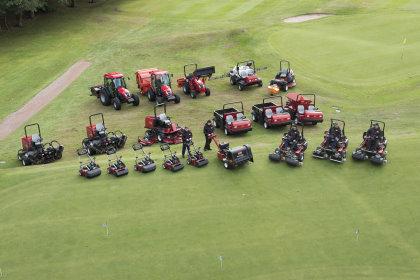 Edgbaston Golf Club's fleet of Toro equipment