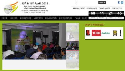 Indian Golf Expo website