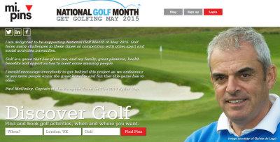 National Golf Month website