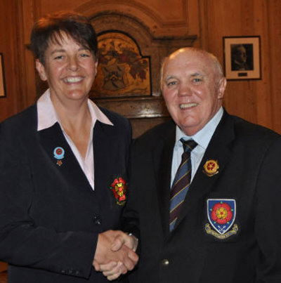 Mary MacLaren and David Foley (image © The Sports Journalist)