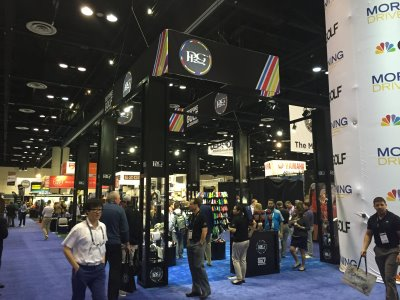 PRG booth at The PGA Show 2015