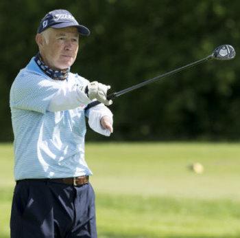 Richard Saunders disabled golf
